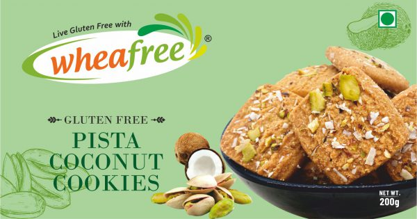 Wheafree Gluten Free Pista Coconut Cookies, Pista Coconut Cookies, Pista, Coconut, Cookies, Biscuits, Wheafree, Gluten Free