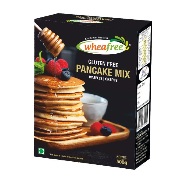 Wheafree Pancake Mix, Waffles, Crepes, Easy to Make, Perfect Batter, Easy to use recipe