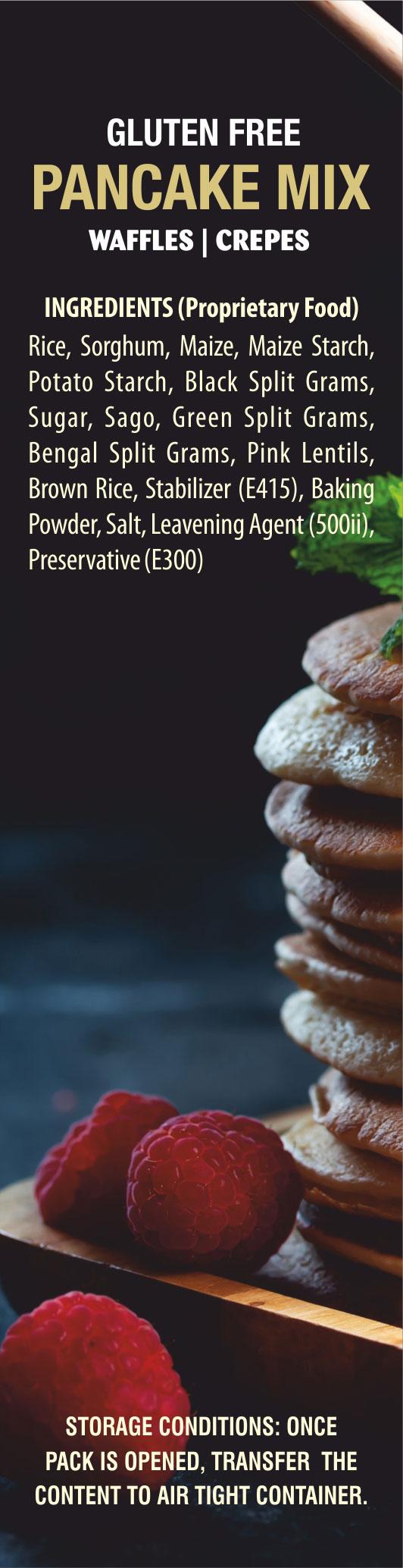 Wheafree Gluten Free Pancake Mix, Waffle Mix, Crepe Mix, Premix, Batter