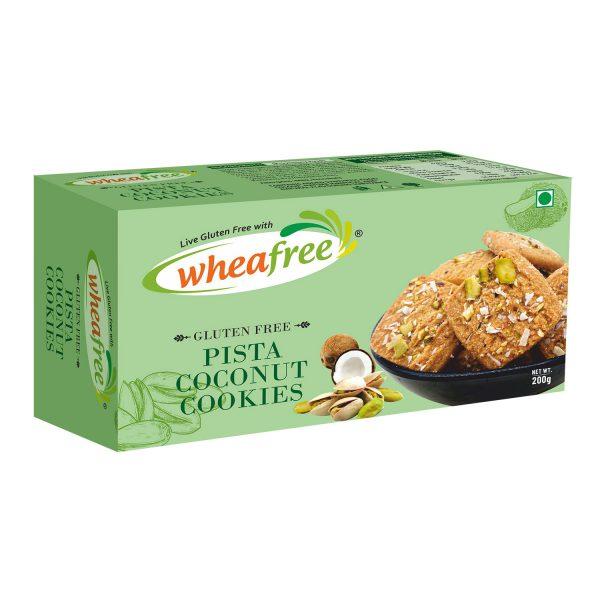 Wheafree Gluten Free Pista Coconut Cookies 200g, Pista Coconut Cookies, Gluten Free Pista Coconut Cookies, Wheafree Cookies, Wheafree Biscuits, Pista Cookies, Coconut Cookies, Biscuits, Sweet Cookies, Sweet Biscuits, Coconut Pista Cookies