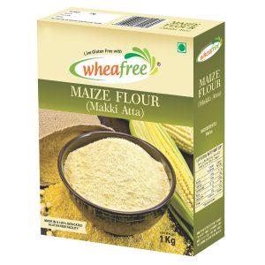 Maize Flour, Gluten Free Flour, Wheafree Flour, Makki Atta, Atta, Gluten Free Atta