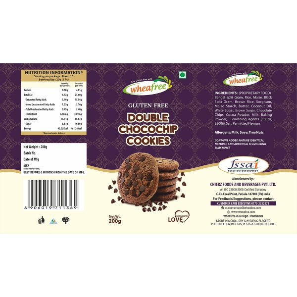 Double Chocochip Cookies